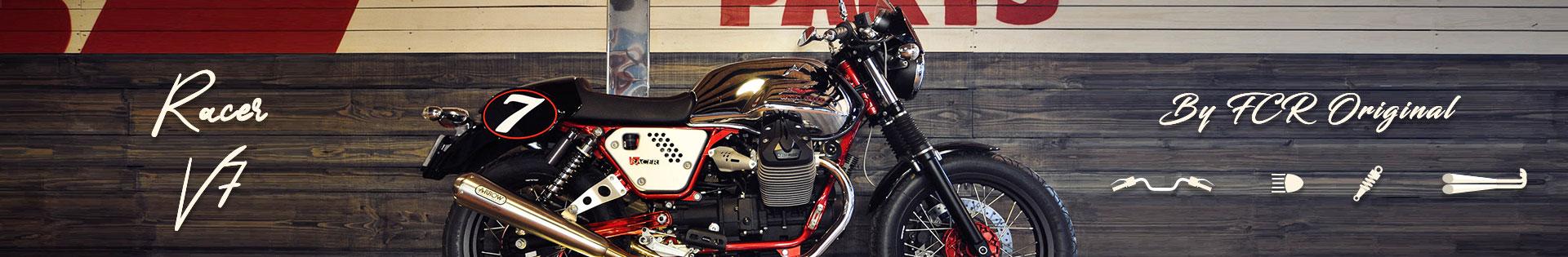 accessoires moto custom cafe racer moto guzzi