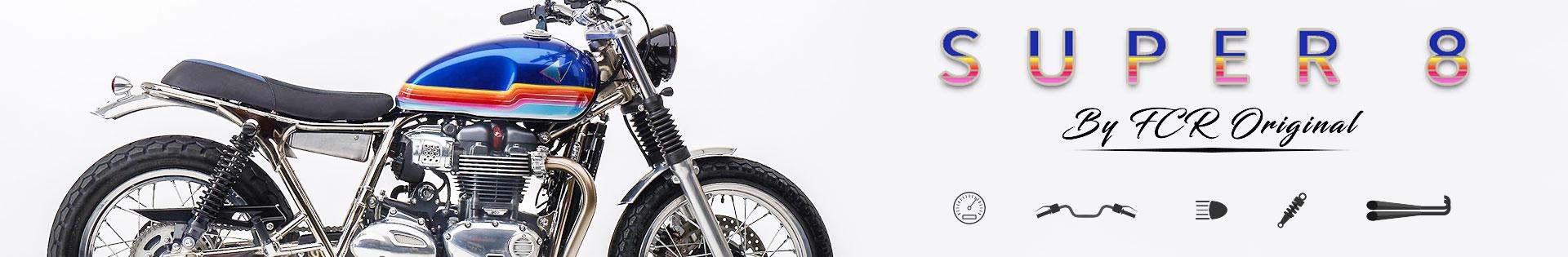 accessoires moto custom cafe racer triumph