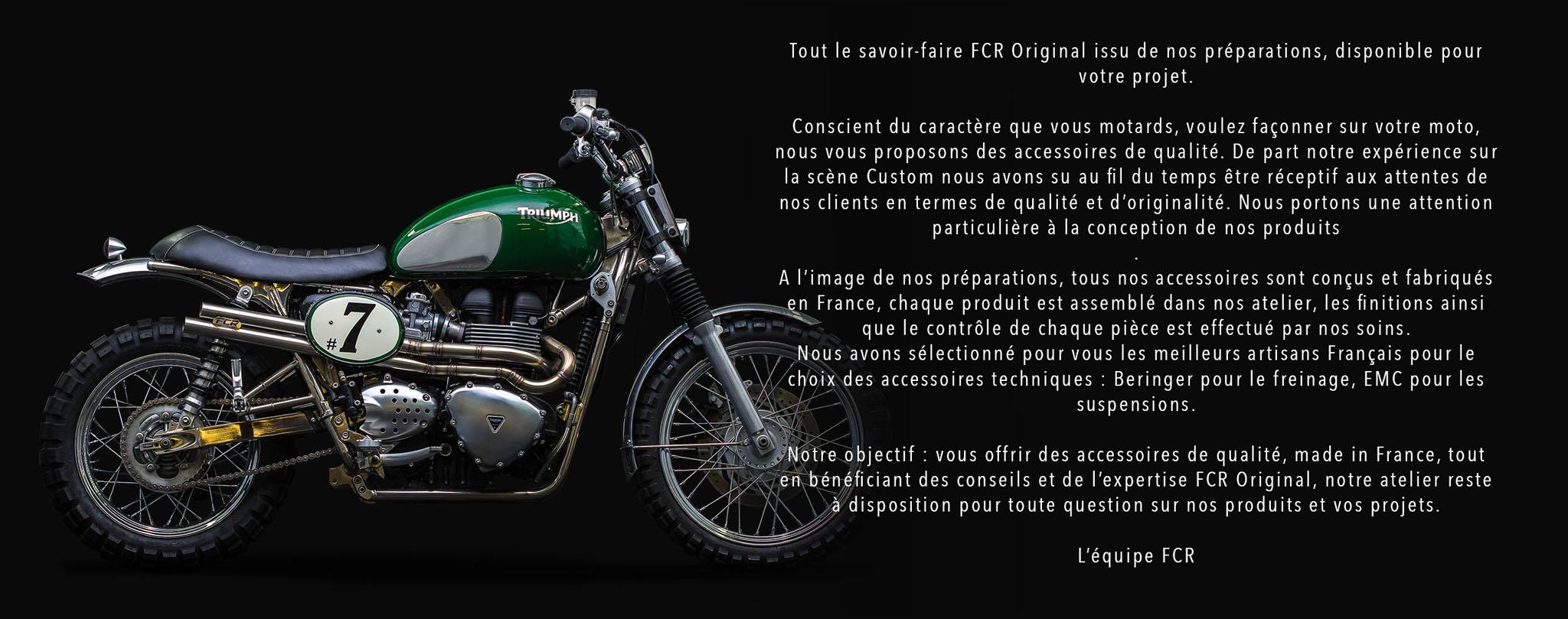 accessoires moto cafe racer