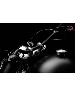 Guidon Black Bobber 25,4mm
