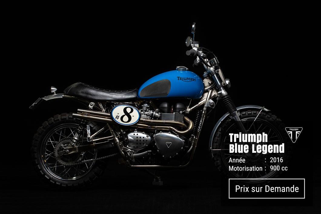 Triumph Blue Legend